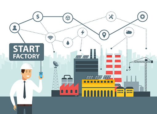 iPNTの利用分野:スマート工場(IoT)